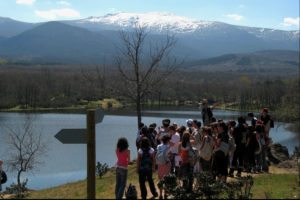 Camino de Pesquerías Reales La Granja Segovia