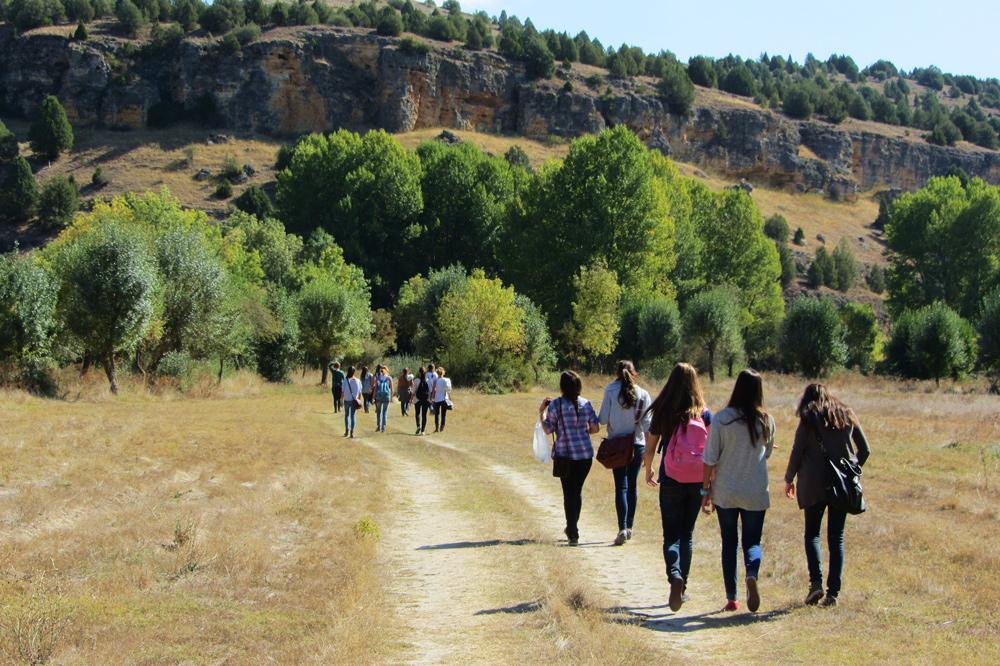 Camino Río Pirón en Segovia