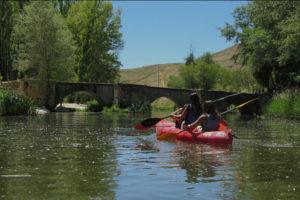 Rutas en piragua por las Hoces del Río Duratón