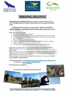 Birding Segovia in English