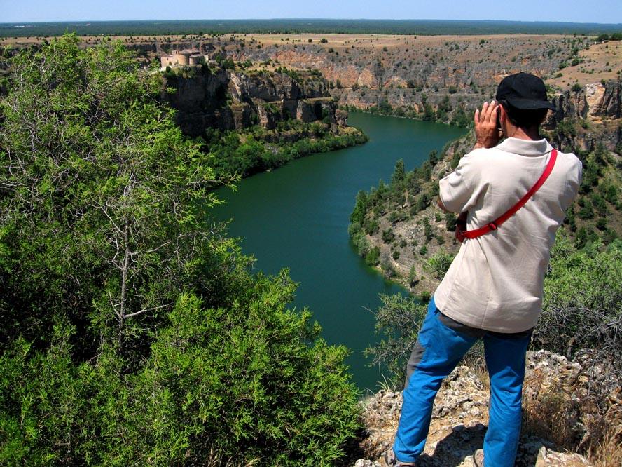 Parque Natural de las Hoces del Duratón, sendas y miradores